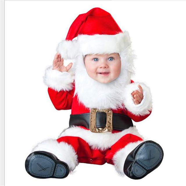 Footies bebê Crianças colocar Natal do bebê animal bebê subir roupas macacões de modelagem ha roupas pin grosso woolFWA3005