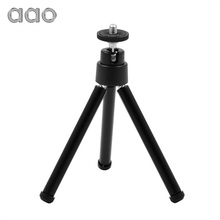AAO Mini Flexible Projector Tripod Stand Bracket Mini Projector YG300 YG310 RD802 Aluminum alloy Holder Stand Projetor Tripod