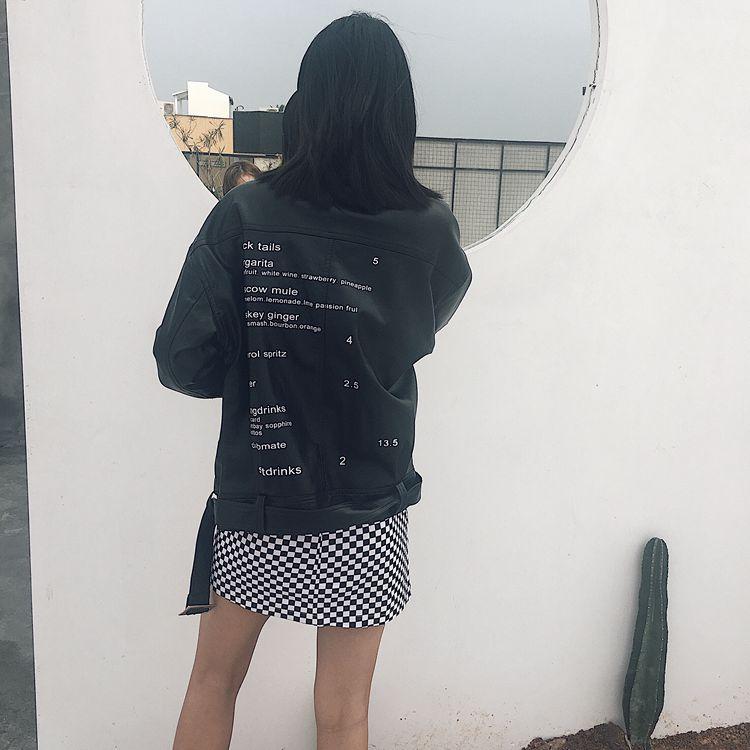 HTB1RN01RpXXXXXYXFXXq6xXFXXX0 - FREE SHIPPING High Waist Mini Skirts Black White Checkerboard Plaid JKP240