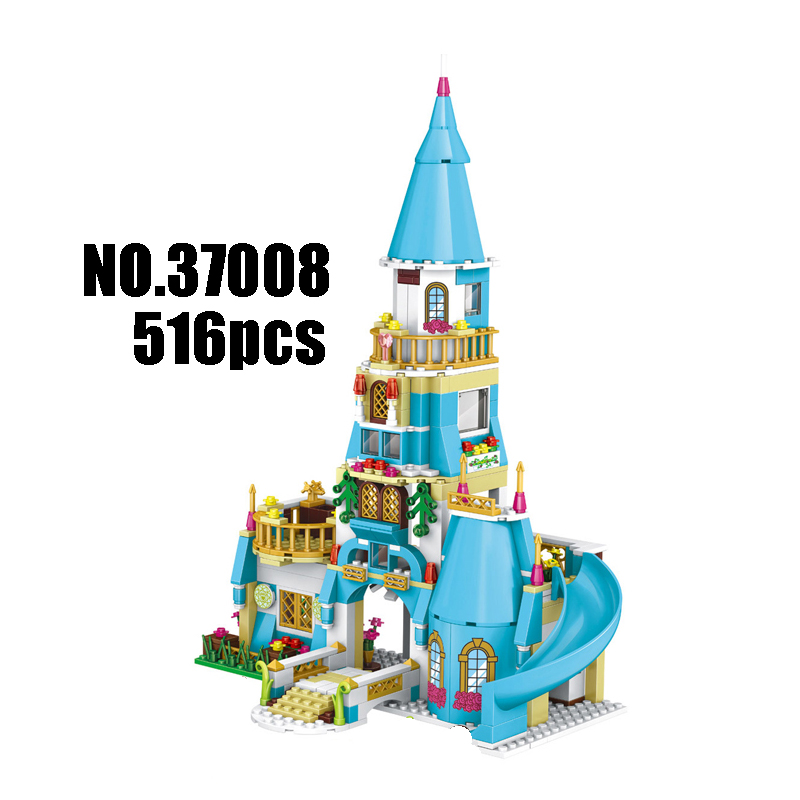 Models Building Toy Anna and The Princes Castle 516pcs 37008 Building Blocks Compatible Lego Disney Princess Toys & Hobbies купить