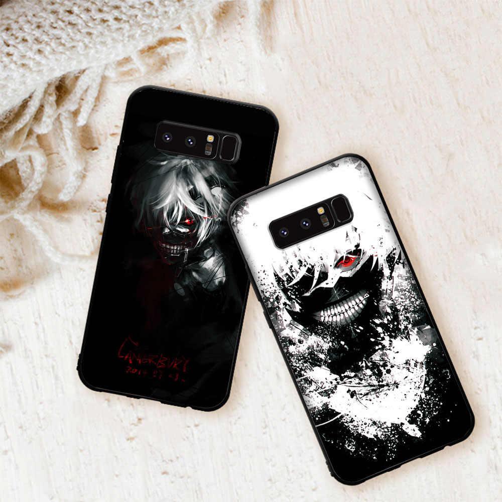 Tokyo Ghoul Anime Case สำหรับ Samsung Galaxy Note 10 9 8 J6 M20 M30 M10 M40 Coque