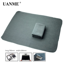UANME  Anti-static Cloth Work Maintenance Flannel For iPhone iPad Tablet Cell Phone ESD Opening Protection Desk Mat Platform a roll 10m 1 2m 2mm esd mat anti static mat antistatic blanket esd table mat for bga repair work