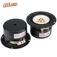 GHXAMP 3 אינץ 90MM מלא טווח Bullet הפוך קצה 4OHM 15W רמקול תקרת בית רכב 80Hz  20KHz