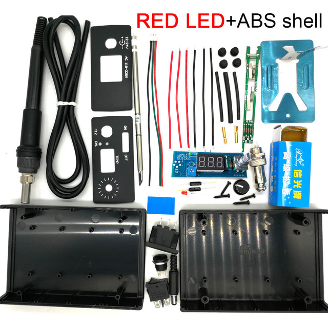 RED LED ABS shell