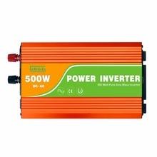 Peak Power 1000W pure sine wave 500W inverter with LED display