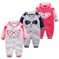 Baby Rompers Long Sleeve Baby Boy Girl Clothing Jumpsuits Children Spring Clothing Set Newborn Baby Clothes Cotton Baby Rompers