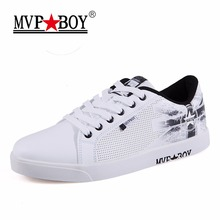 MVPBOY Breathable Men's Vulcanize Shoes Brand Spring Autumn Shockproof Absorption Casual Shoes Male Shoes Sport Superstar Tennis