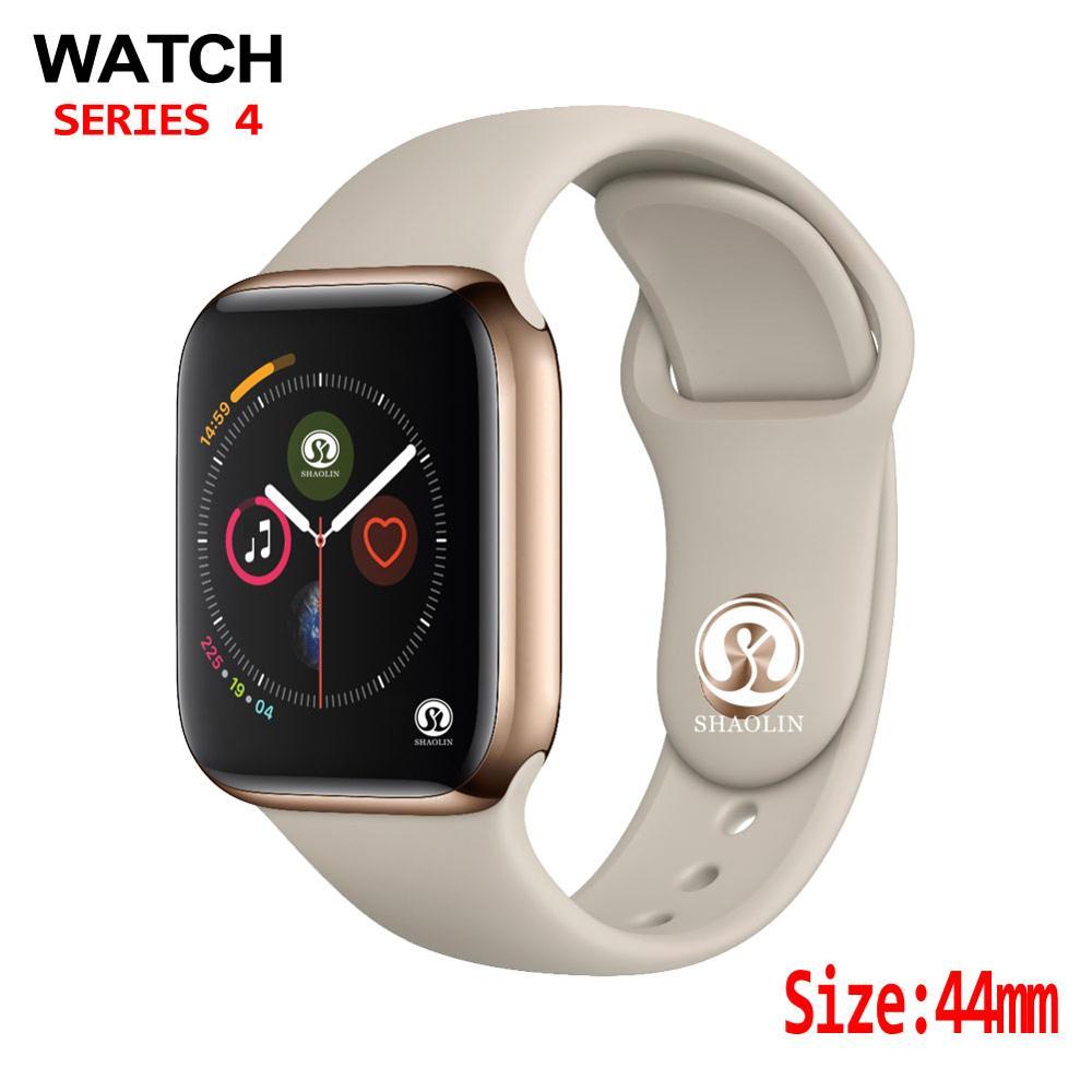 44mm montre intelligente 4 fréquence cardiaque hommes femmes boîtier de smartwatch pour apple Watch iPhone Android téléphone mise à niveau pas apple watch