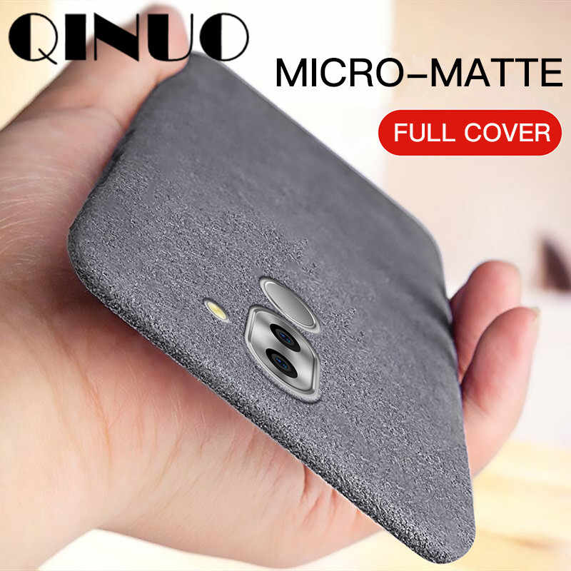 QINUO Non slip Matte Silicone Case For Huawei Honor 8 8C 9 10 Lite V10 V20 5X 6X 7X 8X Max View 20 Note 10 Sandstone Cover Play