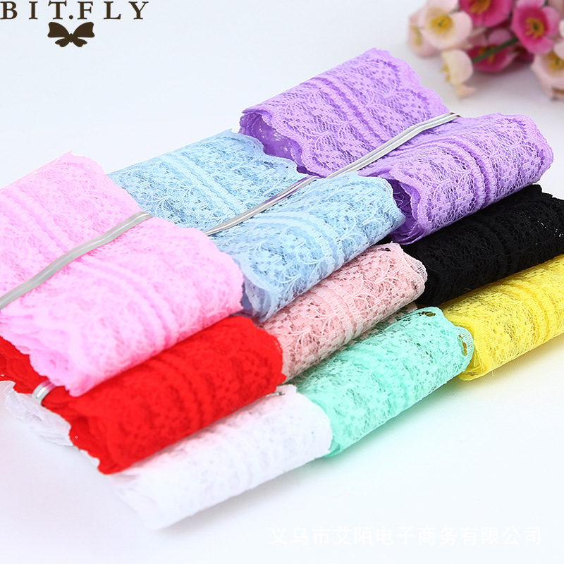 5b01a476f8f19 45mm width Cheap Lace Fabric Trim Ribbon 10yard/lot DIY Garment Accessories  embroidered lace ribbon ...