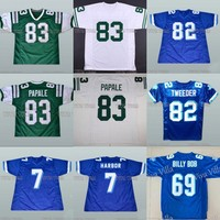 Vince Papale 83 Invincible Football Jersey 82 Tweeder 7 Harbor 69 BOB 33 Bundy West Canaan