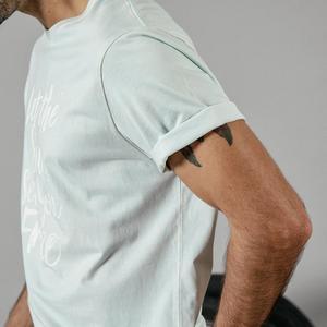 Image 4 - SIMWOOD 2020 summer new fashion letter print t shirt men vintgae 100% cotton tshirt Breathable top high quality t shirt 190223