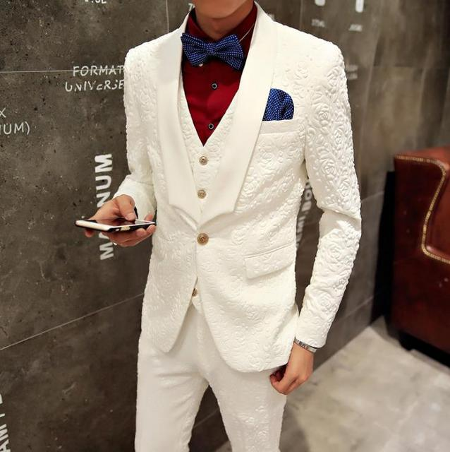 Blazer men formal dress latest coat pant designs suit men costume ...