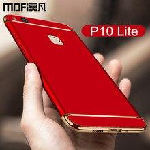 Huawei P10 lite чехол p10lite задняя крышка Жесткий защитный Телефон САППУ MOFI оригинальный Huawei P10 Lite случаях и охватывает 5.2