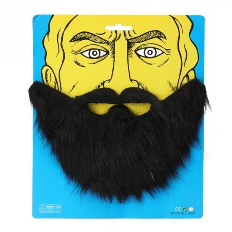 Забавные вечерние Борода Волосы на лице костюм вечерние Поддельные Борода Усы волос на лице Маскировка вечерние бороду и Волосы на лице