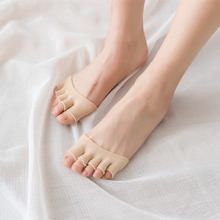 1 Pairs Women Five Toe Socks Cotton Woman Breathable Lady Socks Summer Heels Half Palm Socks