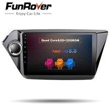 Funrover 9″ Car dvd Radio Multimedia Player android 8.0 gps for Kia RIO K2 2010-2016 car Stereo video Navigation player wifi dvr