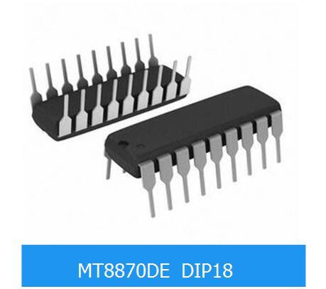 1pcs MT8870DE MT8870 MT8870D DIP-18 Telecom Line Management ICs Pb Free DTMF new original