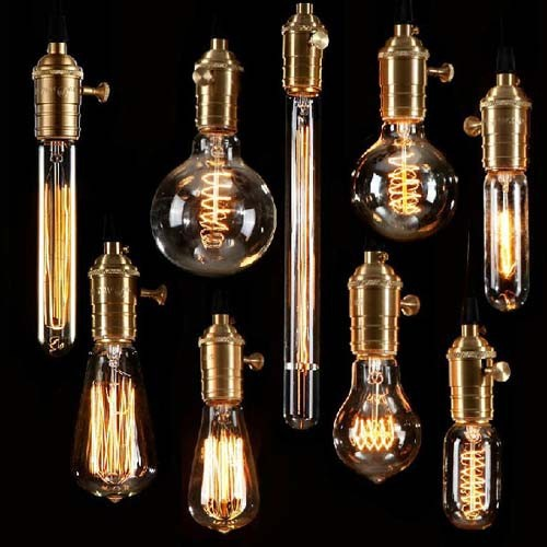 Buy retro incandescent vintage light for Diy edison light fixtures