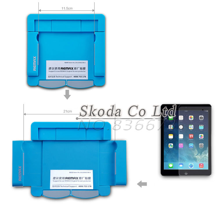 cellphone table PC Protector film Attach tool 4.5~8.2 inch suitable for apple ipad samsung membrane