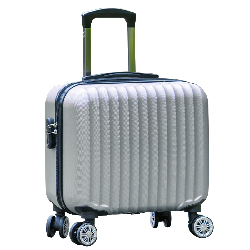 17 inches universal wheels small luggage mini luggage commercial trolley luggage small fresh password box computer travel bag