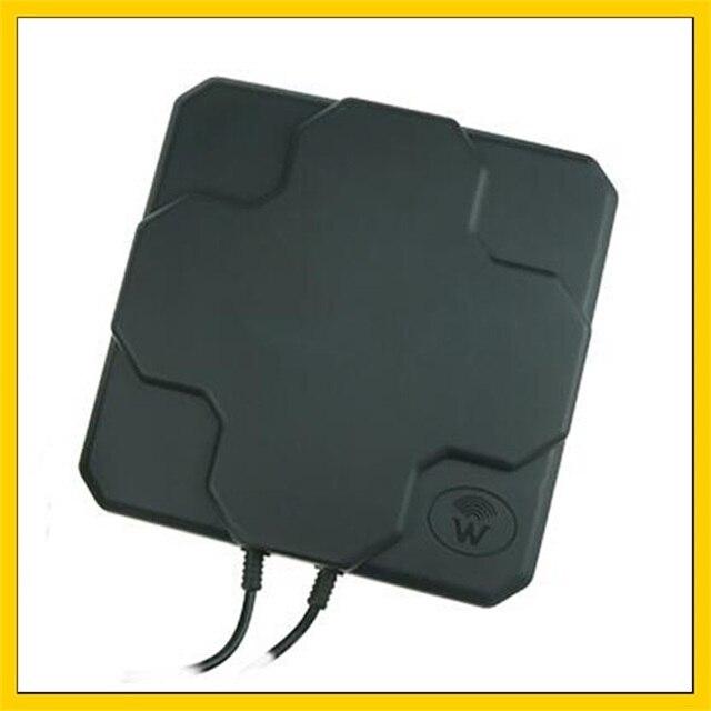 2 * 22DBi 4G LTE Trên Không Hướng Ăng Ten Ngoài Trời Bảng Điều Chỉnh MIMO Bên Ngoài Antenne SMA maleconnector10M cable Đối Với huawei 4g Router