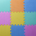 Starz 10Pcs/set Children's Soft Developing Crawling Rugs Puzzle Solid Color EVA Foam Play Mat Pad Floor for Baby Games