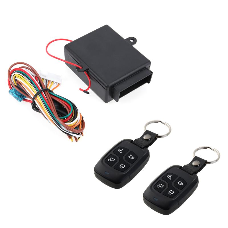 VODOOL Car Remote Central Door Lock Keyless System Remote Control Car Alarm Systems Central Locking With Auto Remote Central Kit|system cars|system alarm|system alarm car - title=