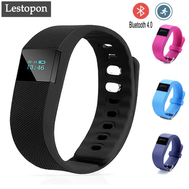 Lestopon Smart Bracelet Bluetooth 4.0 Fitness Cicret Bracelet Calorie Tracker Wristband Heart Rate Monitor Fitness Tracker