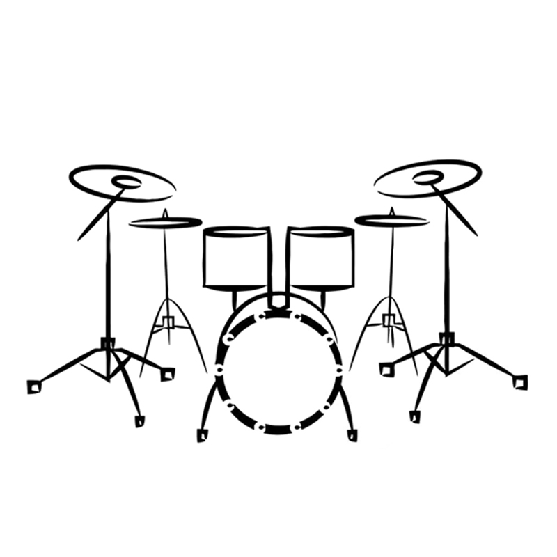 Got Drums Sticker Decal percussion instrument music 2