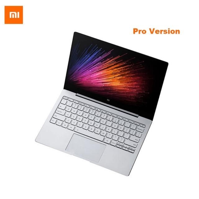 Английский Xiaomi Ми Портативный Ноутбук Air 13 Pro Intel Core i7-6500U ПРОЦЕССОР 8 ГБ DDR4 ОЗУ Intel GPU 13.3 дюймовый дисплей Windows 10 SATA SSD