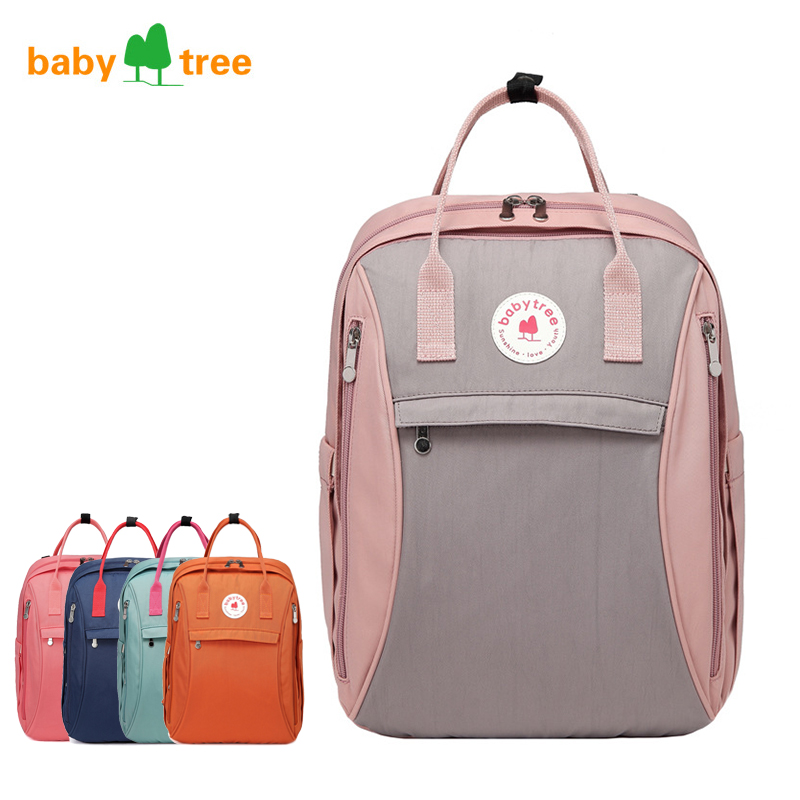 Nappy Backpack Bag Mummy Large Capacity Bag Mom Baby Multi-function Waterproof Outdoor Travel Diaper Bags For Baby Care B1108 disney mummy bag baby care nappy backpack bag large capacity mom baby multifunction outdoor travel diaper bags red mickey