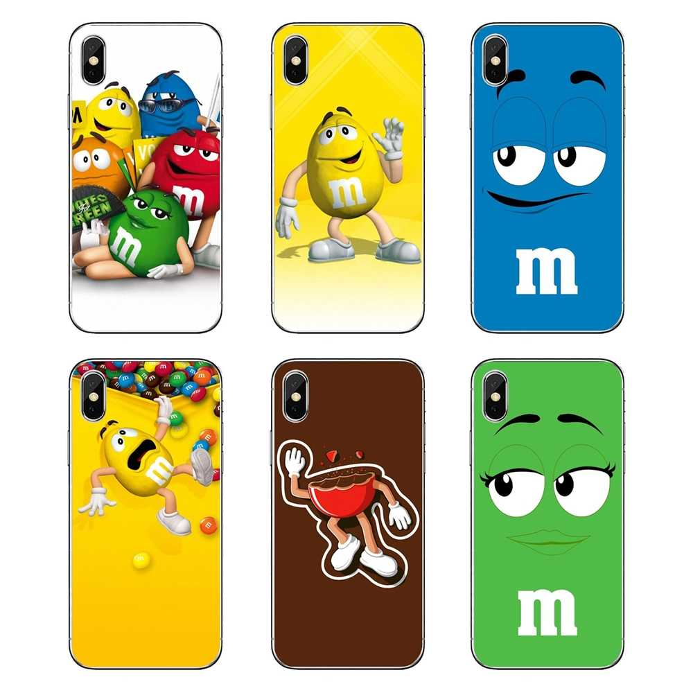 Cartoon M&M's Chocolate Nutella Bottle Lovely Soft Bag Case For Huawei Honor 8 8C 8X 9 10 7A 7C Mate 10 20 Lite Pro P Smart Plus