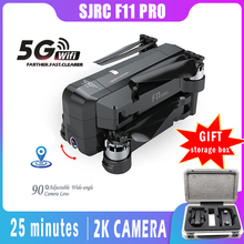 SJRC F11 PRO GPS Drone With Wifi FPV 1080P/2K HD Camera F11 Brushless Quadcopter 25 minutes Flight Time Foldable Dron Vs SG906 drone upgraded apm2 6 mini apm pro flight controller neo 7n 7n gps power module