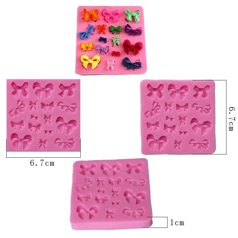 Silikon Kek Kalıp 3D kravat Şekiller DIY Bakeware Setleri silikon - Mutfak, Yemek ve Bar - Fotoğraf 2