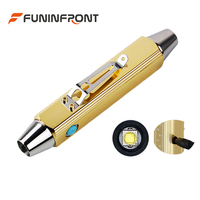 120v 240v Input Voltage Direct Rechargeable LED Flashlight with White &365NM / 395NM / Yellow Light for Gem Jade Appraisal Torch