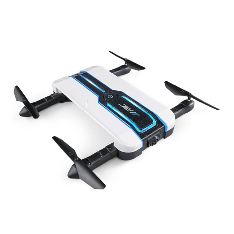 JJRC H61 Spotlight WIFI FPV Foldable Drone With 720P Camera Optical Flow Positioning RC Quadcopter original jjrc h61 02 lower body shell h61 rc drone parts