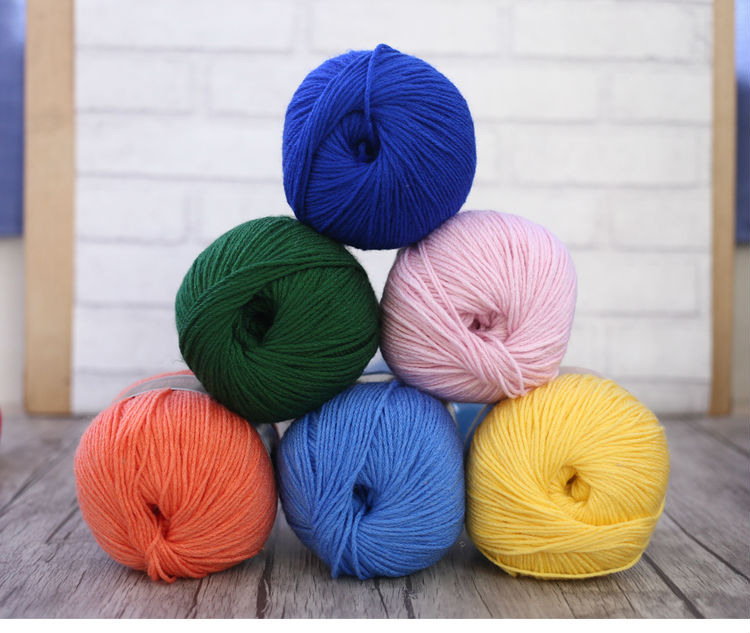 Lamb Wool,Biological Cashmere, Toyobo Yarn For Hand Knitting Thick Thread Good For Scarf Sweater Coat Gloves B