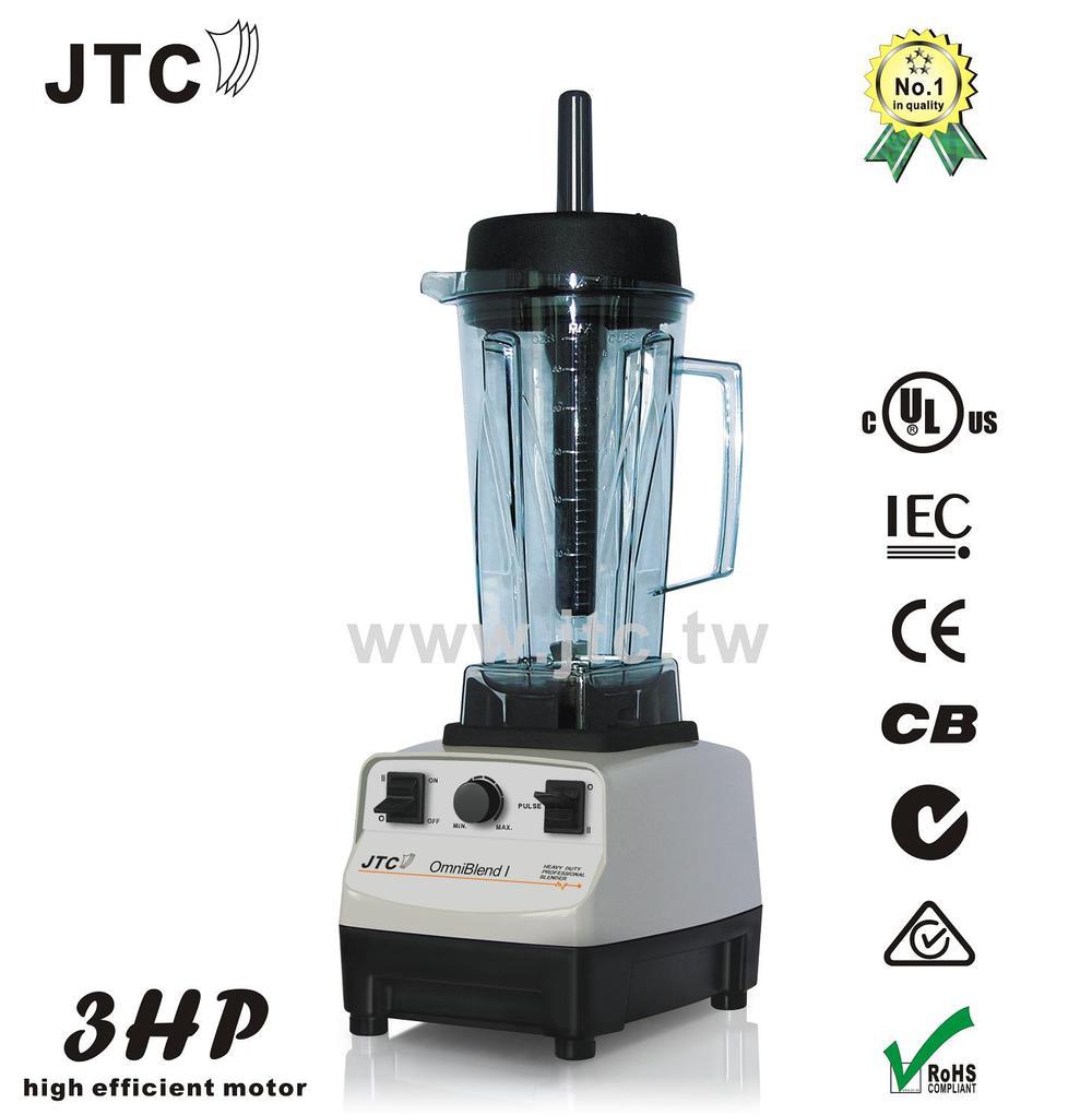 JTC liquidificador Comercial com jar PC, Modelo: TM-767, Grey, frete grátis, 100% garantido, NO. 1 qualidade em todo o mundo