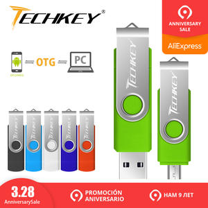 pen drive otg usb flash drive techkey 4 gb 8 gb 16 gb 32 gb 64 gb for android mobile