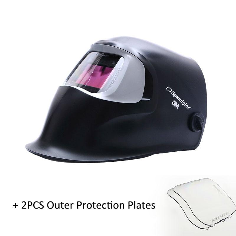 3-M Speedglas 100V Welding Shield Auto-Darkening MMA MIG/MAG/TIG/SMAW Protective