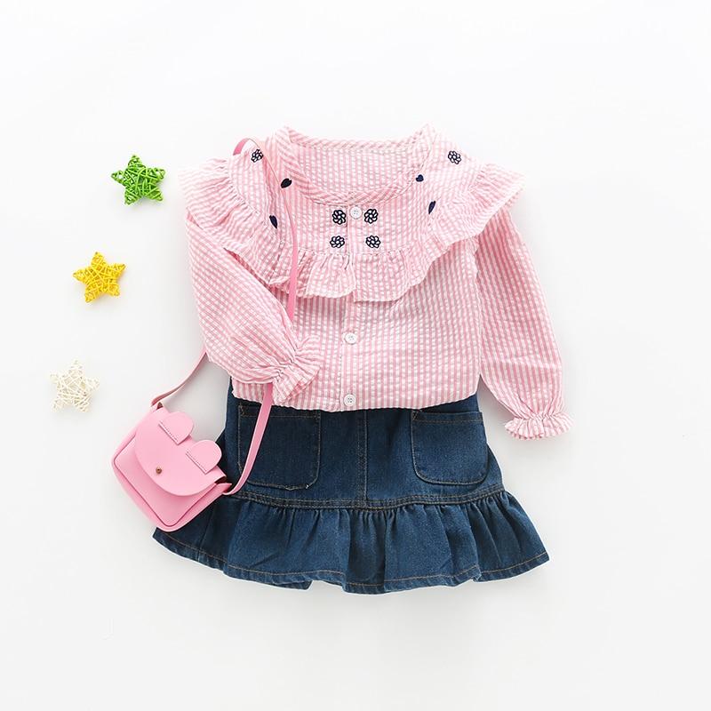 7a78043c17ae MMHSY 2017 κορίτσια ρούχα γλυκά παιδικά μπλουζάκια μπλούζα ...