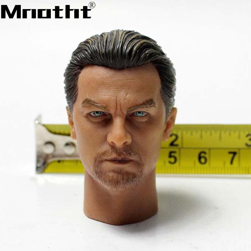 KUMIK 1//6 Male Head Leonardo PVC Sculpt Carved Fit 12/'/' Man Action Figures Toy