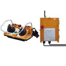 מקורי TELECRANE יחידת אלחוטי תעשייתי מרחוק בקר מנוף חשמלי שלט רחוק 1 משדר + 1 מקלט F24 60