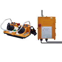 TELECRANE mando a distancia Industrial inalámbrico, Control remoto eléctrico, 1 transmisor + 1 receptor F24 60