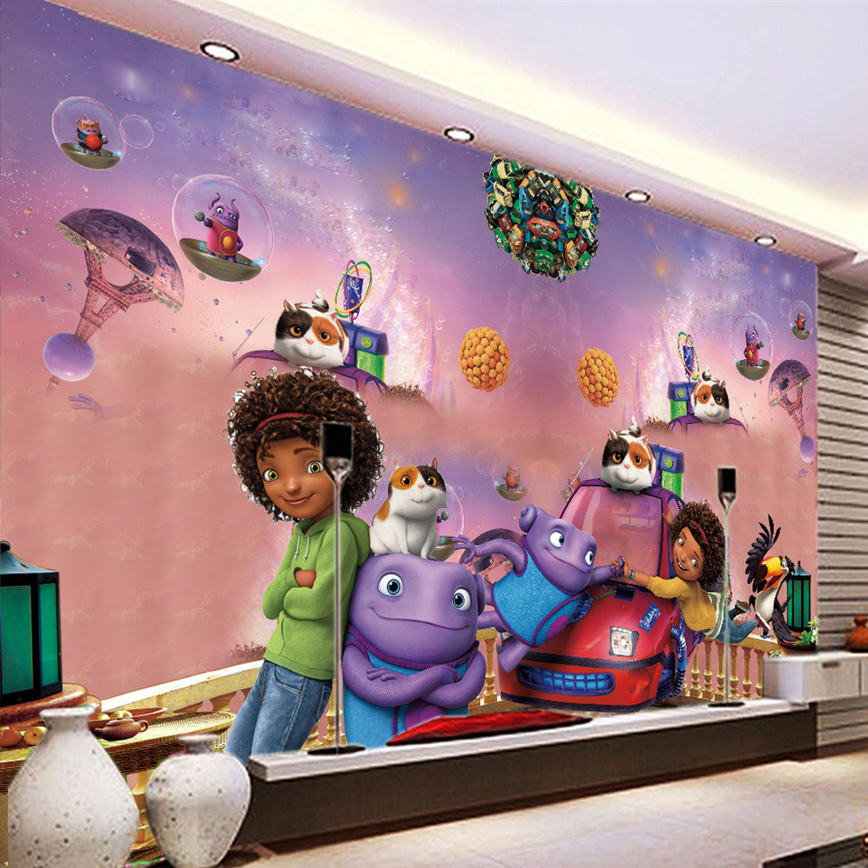 Online get cheap wall painting textures for Cartoon wall mural