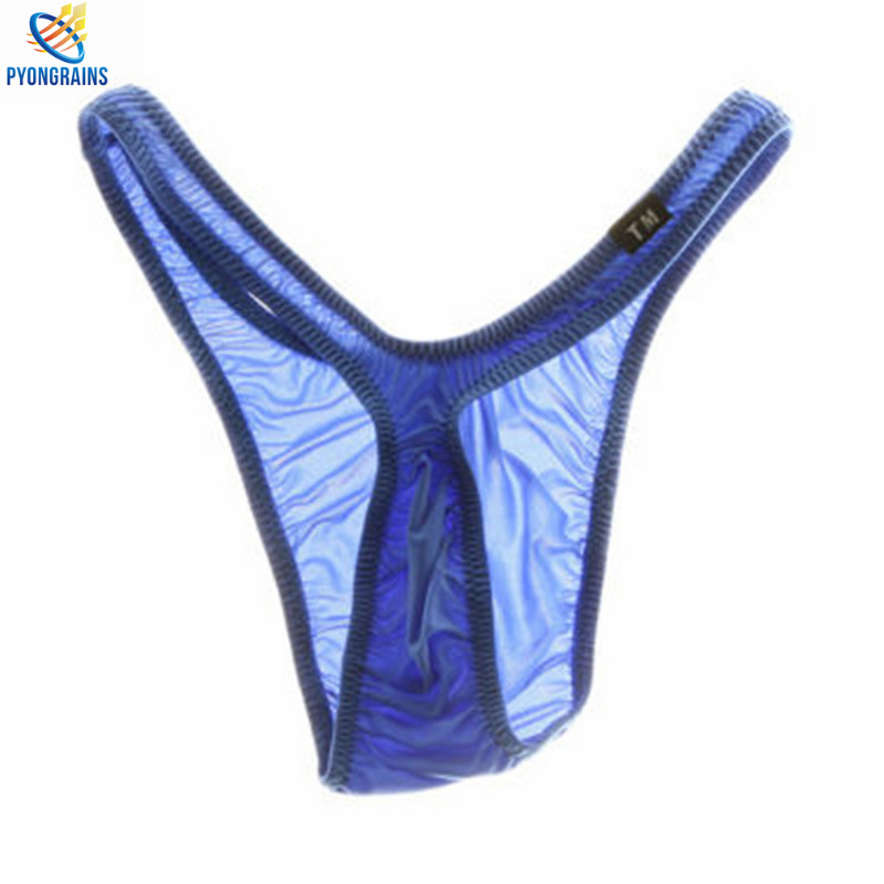2017 Designed Low Waist Sexy Men Underwear Briefs Gay Penis Pouch Wonderjock Mens Bikini Brief Underwear Sleepwear Nylon