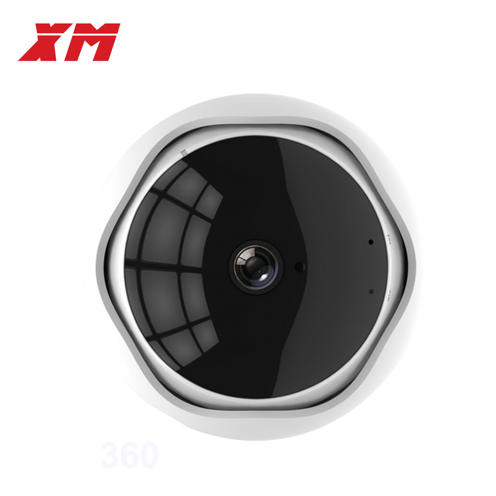 Fish Eye Camera 5MP 360 degree Panoramic WiFi Camera HD IP Camera Wireless Home Smart Security