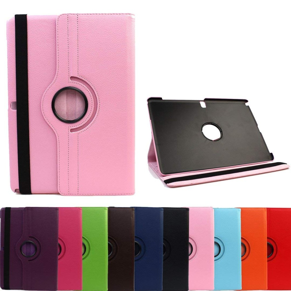 Case Cover For Samsung Galaxy Tab S 10.5 SM-T800 SM-T805 T800 T805 TabS 10.5 inch 360 Rotating Flip PU Leather Tablet Case Glass for samsung galaxy tab s 10 5 case t800 t805 leather retro tablet fundas coque for samsung tab s 10 5 case cover with stand