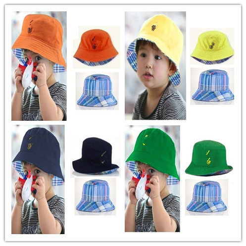 Wholesale Brand name kids polo hats baby cap fashion summer headwear  children s outdoor sports cap boys girls casual bucket hats 125bc21afae
